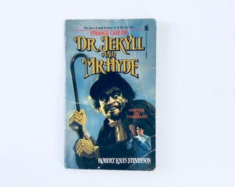 Strange Case Of Dr. JEKYLL And Mr. HYDE / Robert Louis Stevenson / Vintage paperback TOR Book Horror Classic