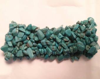 Genuine Bright Turquoise Bracelet
