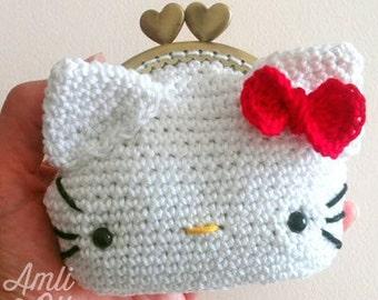 Amigurumi Free Patterns Hello Kitty : Hello kitty crochet etsy