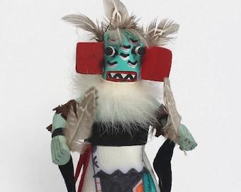 Runner Kachina, Hopi Kachina Doll, First American Art, Native American Spirit Figurine