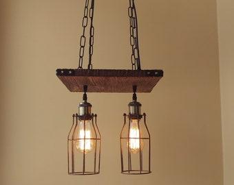 cheap rustic lighting. Rustic Light Fixture - Hanging Lighting Industrial Pendant Wood Chandelier Cheap E