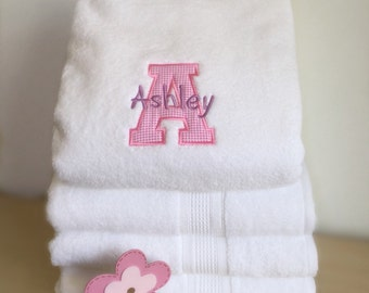 Pink & Purple style towels
