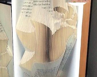 Dove Folded Book Art Pattern