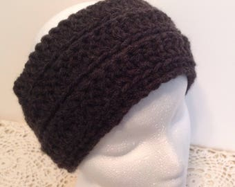 Charcoal Gray Warm Headband