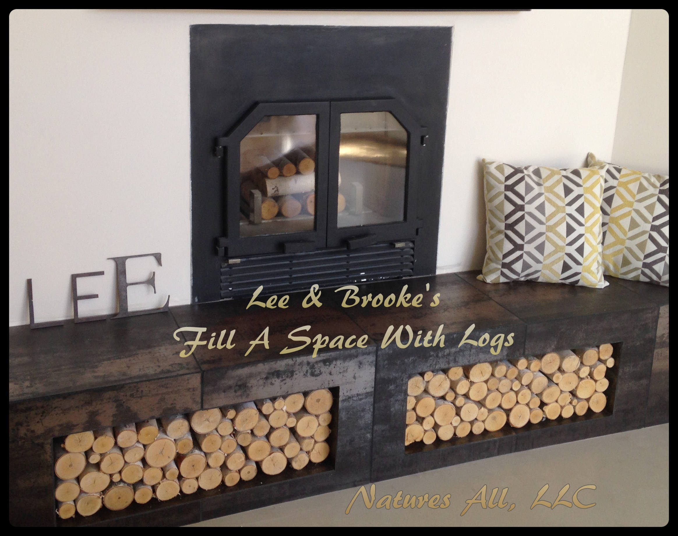 fireplace cover family hallmark decorative how and channel home logs to