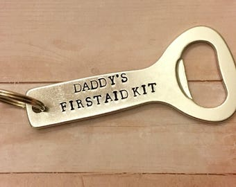 Daddy's First Aid Kit bottle opener