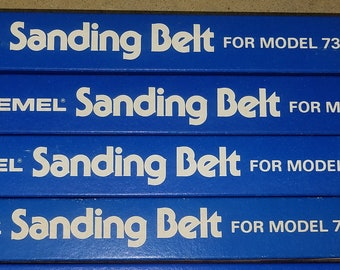 LoT Dremel Belts Sanding for #730 Vintage New Stock
