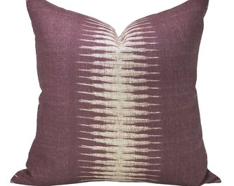 Ikat pillow cover in Pasha - ON BOTH SIDES