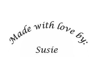 Made With Love Custom Stamp - C516