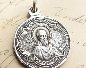 St Francis de Sales Medal / St Jane de Chantal medal- Antique Reproduction