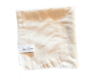 The ultimate in wash cloths, raw silk washcloth, for all skin types