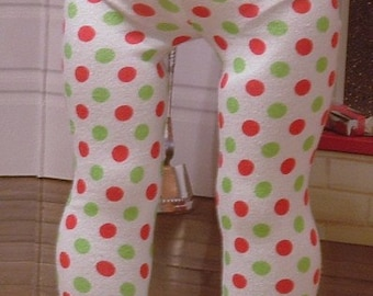 Holiday Tights for American Girl Dolls