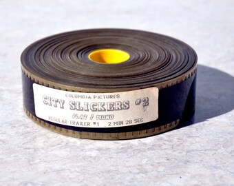 35mm City Slickers Trailer, Hollywood, Westerns, Movie Collectible, City Slickers, Cinema Treasure, Columbia Pictures, Billy Crystal