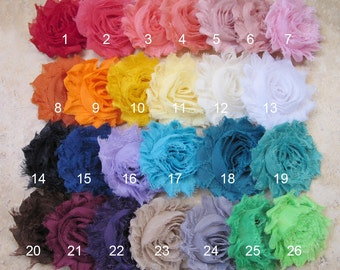 PICK 4 HEADBANDS- Baby Hair Bow, flower headband, baby headbands, shabby chic roses, baby girl headband, hair bows- BL144
