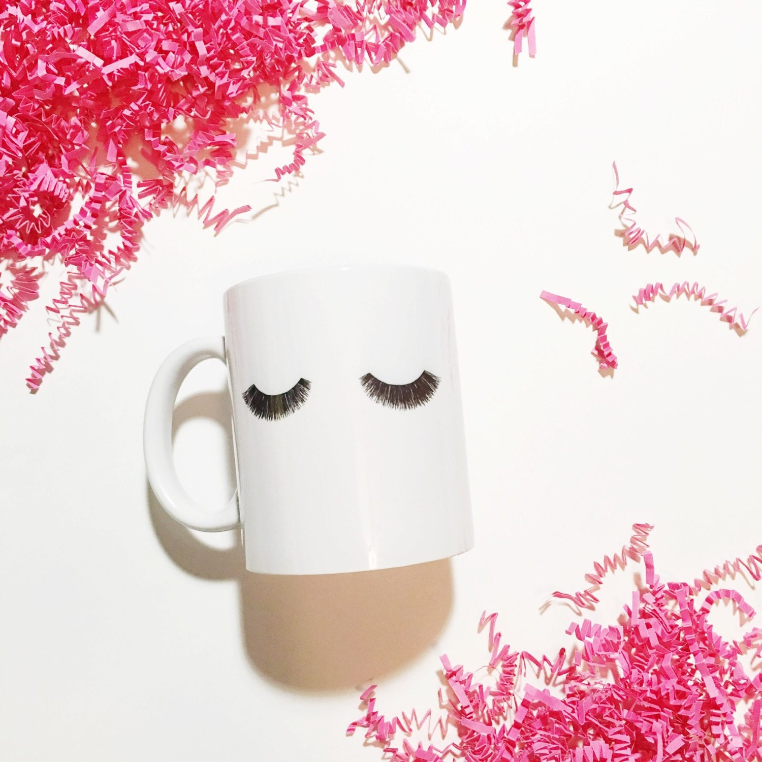 Sleeping Beauty Tired Mom Lashes Lash Artist Coffee Mug Drink