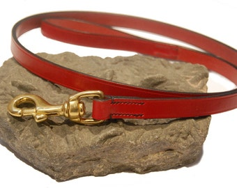 Classic Hand Made Leather Dog-Lead