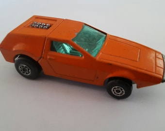 Vintage Matchbox Superfast Series No 53 Tanzara 1972 Made in England by Lesney