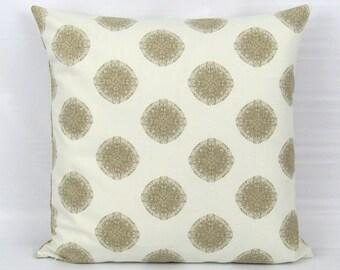 Gold Pillow Cover, Gold Decorative Pillow, Gold Throw Pillow, Gold Accent Pillow, Geometric, Gold Zipper Pillow
