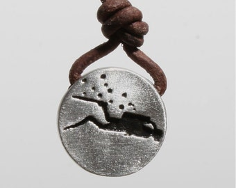 Scuba diving necklace | pewter scuba jewelry by zulasurfing