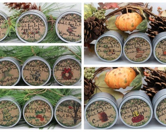 Holiday Winter Scents Three for 22.00  Mix and match any three scents from scent categories. List under comment section