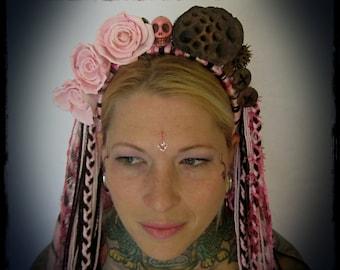 Dia de los Muertos Headdress