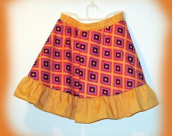 girl's twirly skirt with shorts, clothing, girl's clothing, skirt,  girl's twirly skirt, girl's skirt, skort, girl's skort, skirt and shorts