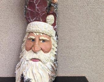 Cottonwood bark Santa