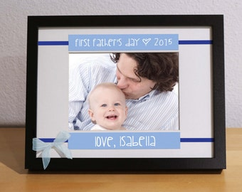 First Time Fathers Day Gift, Personalized Gift, Custom Frame, First Time Father Gift, Grandfather, Godfather Gift, Grandpa Gift