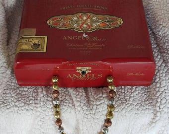Cigar Box Purse Angel's Share (red)