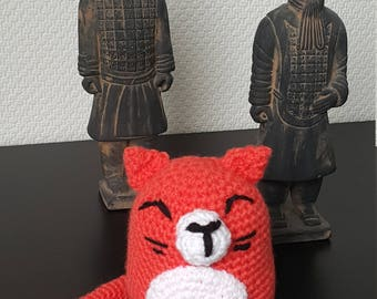 Cat crochet amigurumi