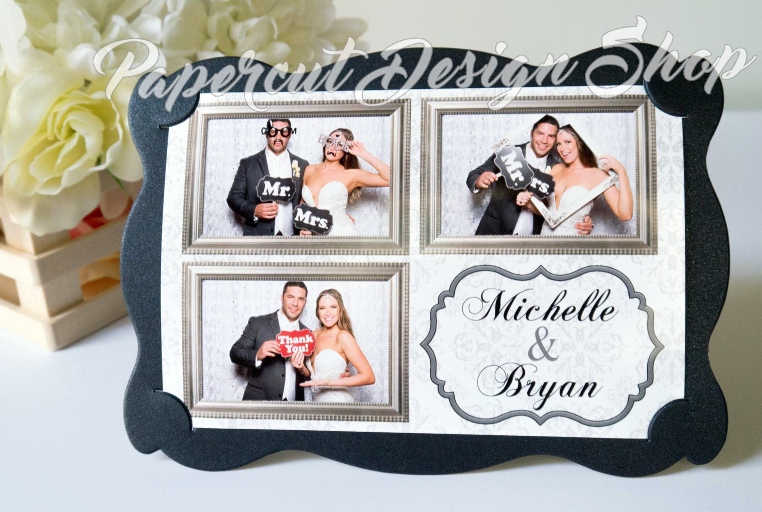 Awesome Photo Booth Picture Frames Wedding Favors Photos - Ideas de ...