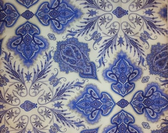 Tana lawn fabric from Liberty of London, Lord Paisley