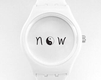 Now Watch Yin/Yang White