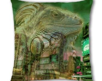 Lizard Buildings Design Cushion Cover (C779)