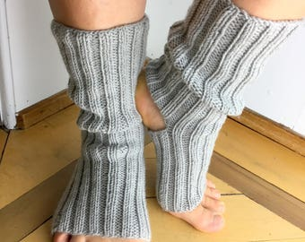 Yoga socks from 100% merino wool