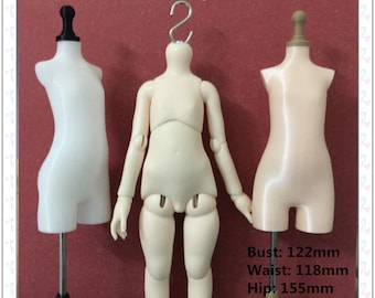 imda 3.0 Body | imda 2.6 Body BJD Doll 3D Dimensional cutting pinable Doll mannequin making clothes  3D printed TPU