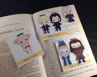 Magnetic bookmarks - Harry Potter II