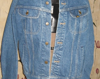 Vintage 70s LEE DENIM Jean jacket    SZ 38