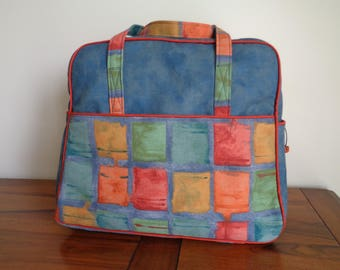 Weekend - travel bag - cotton canvas bag