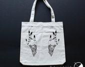 Tote bag hand tattoo / or...