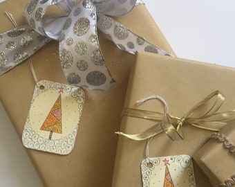 Christmas Note and Gift Tags, 8/pack, Perfect for an Extra Special Touch