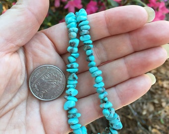 American Indian nugget necklace