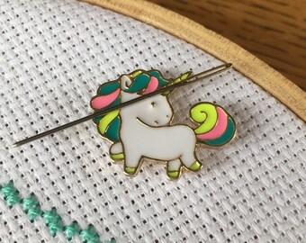 Unicorn Needle Minder - Needle Magnet - Mini Cute Unicorn