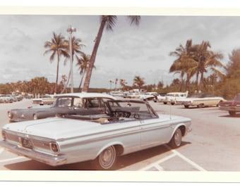 Powder Blue Plymouth FURY 1963
