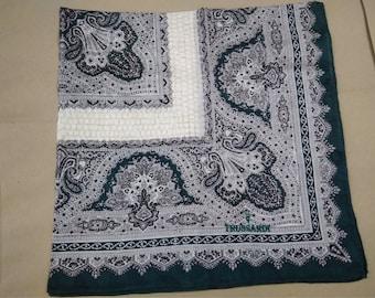 trussardi handkerchief cotton accessories pocket square handkerchiefs