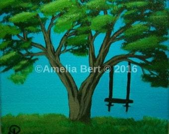 Family tree spiritual artwork