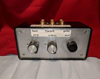 Vintage Bass Treble Level Control