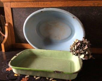 Vintage agateware