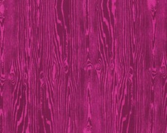 True Colors - By Joel Dewberry - Wood Grain - Pink (PWTC008) - One Yard - 9.50 Dollars