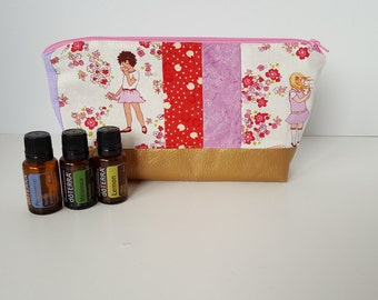 Essential Oil Pouch, Oily Pouch, Essential Oil Storage - Garden Whimsy